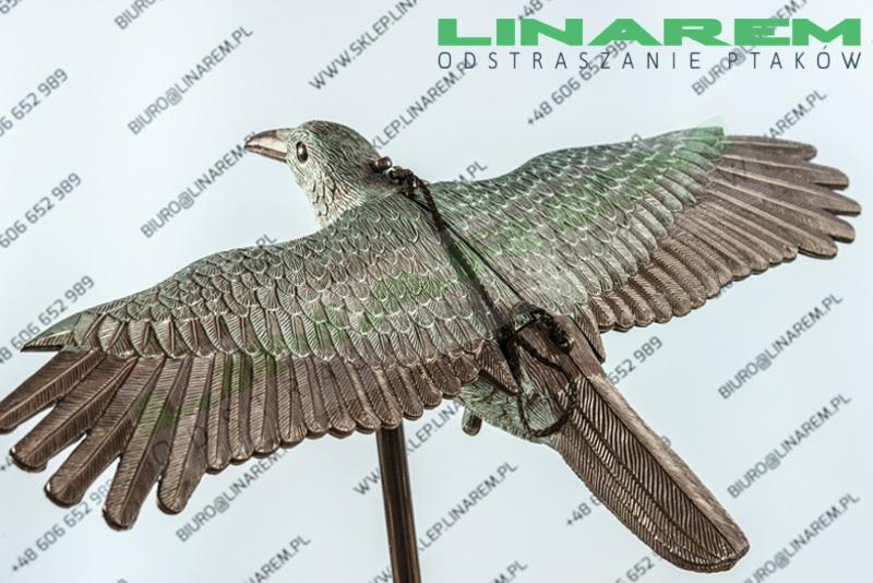 balkonowy odstraszacz ptaków