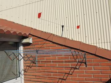 odstraszacz ptaków na dachy_